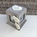 Shabby Chic PERSONALISED Photo Frame Box Nanny Nana Granny Grandma Nan ANY NAMES - 332870189138